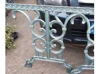 Garden Seat ends and table ends for your garden or patio