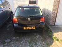 1.4 petrol VW Golf mk4