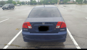 Immediately selling 2005 Honda SE Sedan