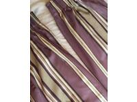 John Lewis 100% cotton, fully lined curtains. W228cm x Drop 137cm. Excellent condition. £50