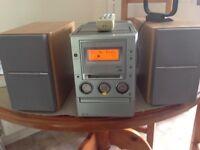 Sony mini hifi system with minidisc