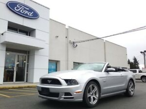 2013 Ford Mustang GT Covertible Premium with Leather and SYNC/Bl
