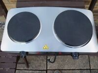 Prolex Twin Hotplate Hot Plate New With Instructions ,Never used