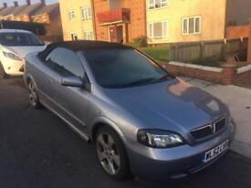 2003 Vauxhall Astra Linea Rossa 2.2 Convertible Rare