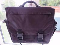 FS Black Messenger Briefcase Shoulder bag