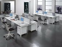 NEW BENCH DESKS - WHITE - 1400MM X 800MM - EXCLLENT QUALITY