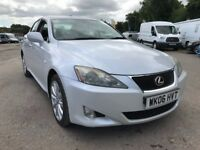 LEXUS IS220D, DIESEL, 4 DOOR SALOON, FULL LEXUS SERVICE HISTORY, WHITE
