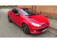 03 Plate PEUGEOT 206CC 2.0 16V ,WORKING ROOF, GOOD CONDITION LOW MILEAGE LOOKS+ DRIVES WELL