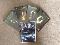 Alien Special Edition DVD's and Prometheus