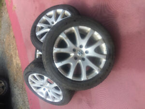 VOLKSWAGEN TOUREG / AUDI Q7 RIMS AND TIRES 19""