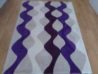Hand Tufted rug 120 x 170 cm