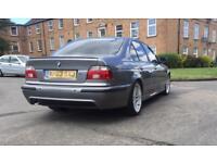 BMW E39 530D M SPORT FACE LIFT CHAMPAGNE GREY LOOKS DRIVES SUPPERB 12 MONTHS MOT PX CONSIDERD