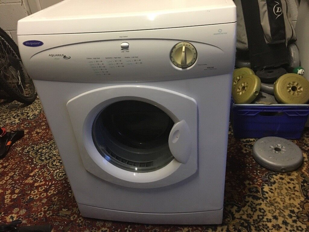 Hotpoint Aquarius 6kg clothes dryer50in Bournemouth, DorsetGumtree - Hotpoint Aquarius 6kg clothes dryer good condition in working order surplus to requirements . £50.00