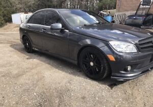 2010 Mercedes Benz C300 4 Matic AMG Package