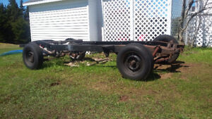 SOLID TEXAS ROLLING FRAME 1/2 CHEVY  1947-1953 $525