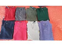 6 x original Ralph Lauren Polos Size Small and 2 x Hilfiger Polos (All previously worn)
