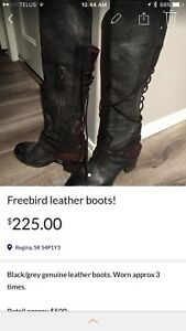 Reposting, freebird leather boots
