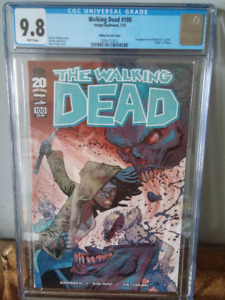 The Walking Dead #100 CGC 9.8 Ottley Art First Negan and Lucile