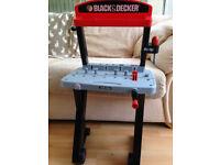 Toy Black and Decker work bench
