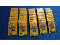 52 Packs Sainsbury's Lego Create The World