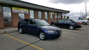 2005 MAZDA 3 SAFETY INCLUDE IN THE PRICE!!FINANCING AVAILABLE