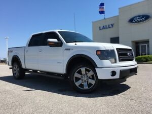 2014 Ford F-150 FX4 SuperCrew Leather, Moonroof, Navigation