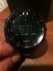 Suunto Core military black montre