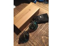 Sunglasses For The Shore mirror rayban type wooden shades rare