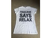 Frankie Says Relax white t-shirt