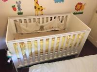 Cot bed two in one