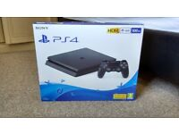 PS4 SLIM BRAND NEW UNOPENED SEALED