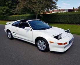 TOYOTA MR2 2.0 GT - T-BAR (180 BHP) - 2dr - WHITE ** FACE LIFT + IMMACULATE **