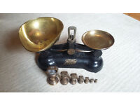 Boots Brass Weighing Scales