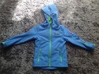 Supercool Trollkids Norwegian quality rain jacket boys 7-8 yrs