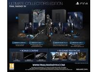 Final Fantasy XV (FFXV) Ultimate Collector's Edition BRAND NEW SEALED
