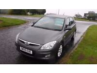 HYUNDAI I30 1.6 STYLE CRDI,2009,1 Owner,Alloys,Air Con,Full Service History,£30 Road Tax,Very Clean