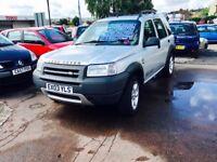 ✅ 2003 (03) - Land Rover Freelander 2.0 Td4 ES Station Wagon 5dr Auto ✅