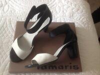 Ladies ankle strap shoe