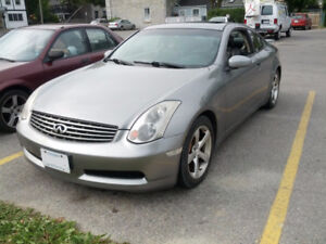 2003 Infiniti G35 Coupe with EVERY option