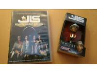 JLS DVD and toy