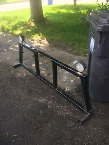 Back rack aluminum sierra gmc