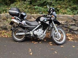 BMW f650gs twinspark 47k new rear tyre,fork seals, scottoiler, 9 mths mot, good condition £2500
