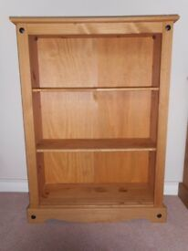 Pine console, new and unused.