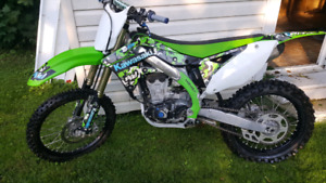 Clean 2012 kx450f..  Trade for 250f