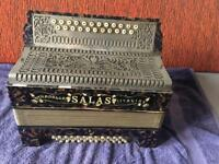 Salas Stradella Button Accordion/Melodion