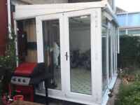 Conservatory - Approx 3.5m x 2.5m. Free for someone to dismantle and collect