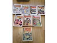 1950's-60's Wizard comics