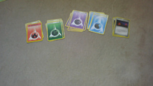 Magic cards and pokemon cards