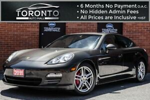 2011 Porsche Panamera 4+AWD+Navigation+camera+Turbo Wheels+Bose