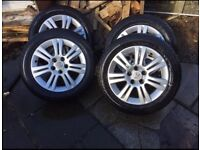 "Vauxhall 16"" Astra alloy wheels"